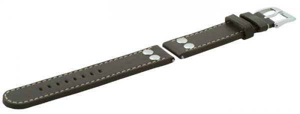 Laco Ersatzarmband Leder Braun - 401873
