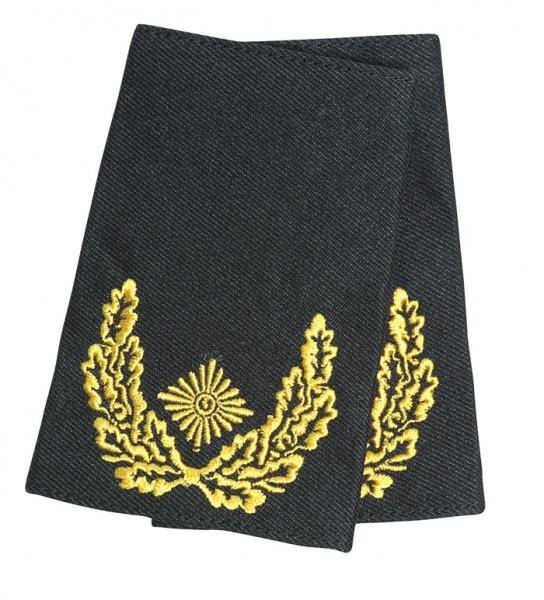 BW Rangschlaufe Brigadegeneral Heer Schwarz/Gold