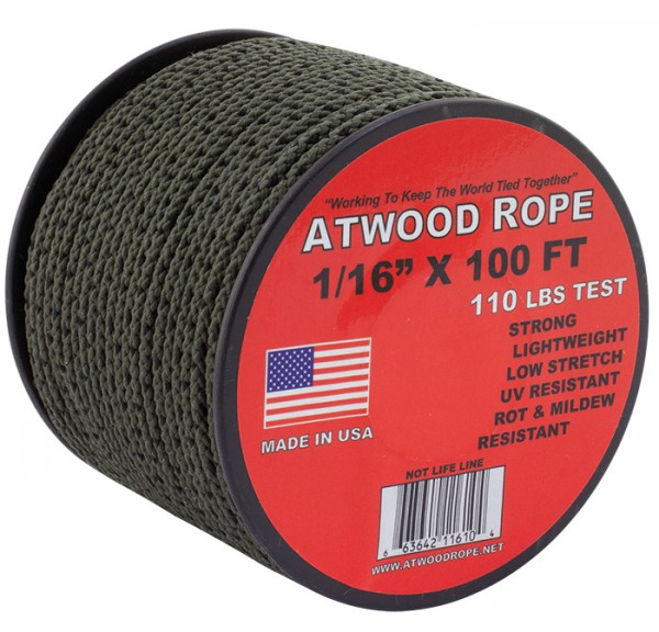Atwood Rope Utility Cord 1,6 mm - 30 m
