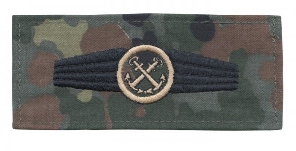 BW Tätigk.Abz. Pers. Im Marinedienst Tarn/Bronze