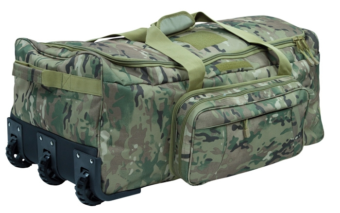 commando trolley mit 3 rollen dtc multicamo recon company. Black Bedroom Furniture Sets. Home Design Ideas
