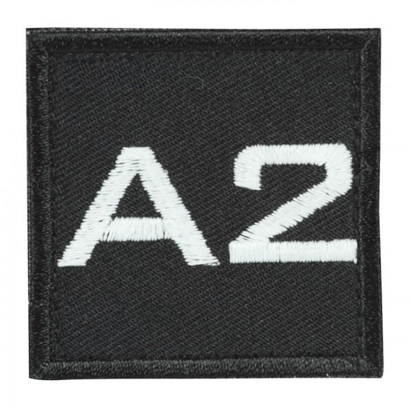 Truppkennzeichnung Schwarz mit Klett A2