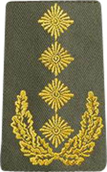 BW Rangschl. General Heer Oliv/Gold