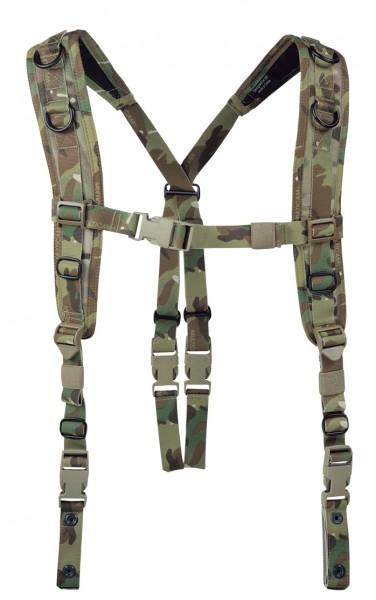 Warrior Low Profile Harness Multicam W-EO-LBH-MC