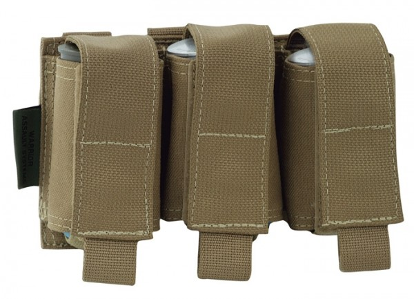 Warrior Triple 40mm Pouch Coyote