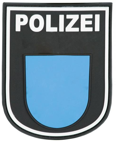 3D Ärmelabzeichen Polizei Hessen (Schwarz)