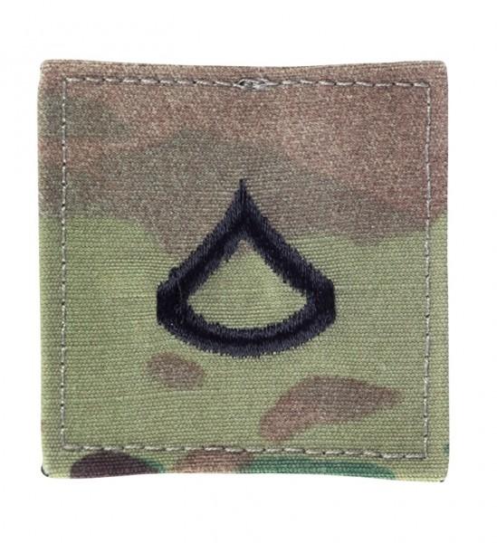 US Textilabzeichen Klett Multicam Private 1. Class