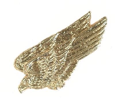 BW Mützenanstecker Metall Adler