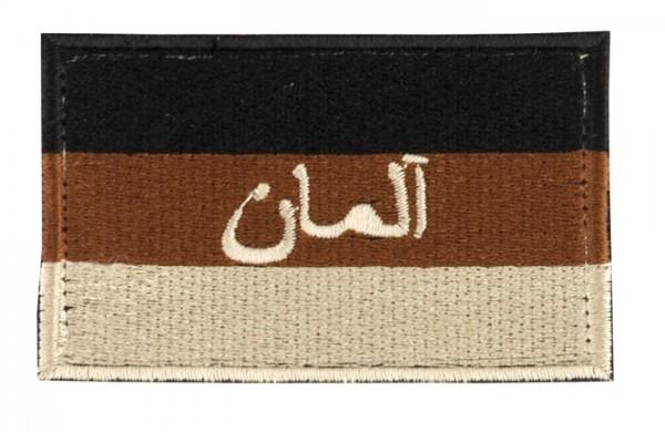 BW Hoheitsabzeichen Arabisch Sand mit Klett Groß