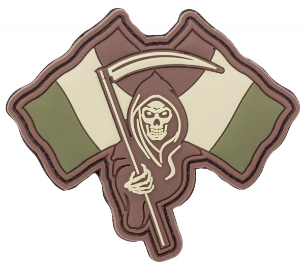 3D Rubber Patch French Reaper