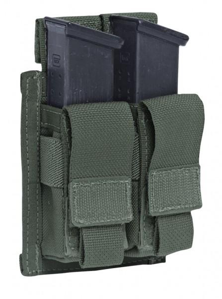 Warrior Double 9mm Pistol Pouch Oliv
