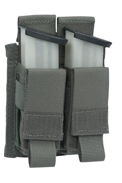 Warrior Double 9mm Pistol Pouch Ranger Green