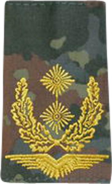 BW Rangschl. Generalmajor LW Tarn/Gold