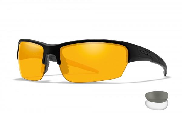Wiley X Saint Schutzbrille Smoke/Clear/Rust
