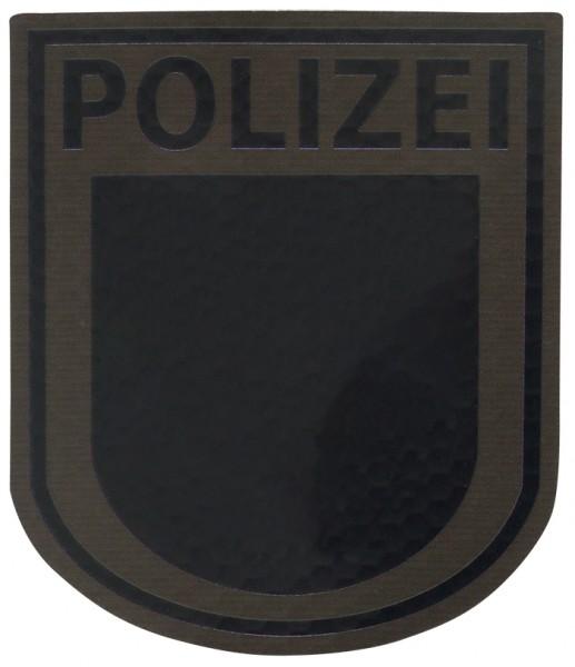 Infrarot Patch Polizei Brandenburg Steingrau