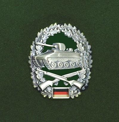 BW Barett Abzeichen Panzergrenadier Metall