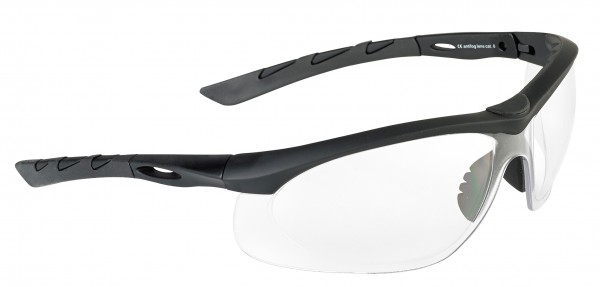 SwissEye Tactical Brille Lancer Black/Clear