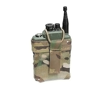 Warrior Personal Role Radio Pouch Multicam