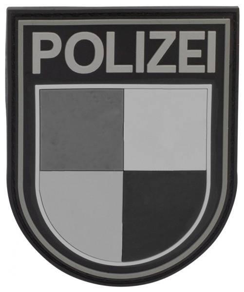 3D Ärmelabzeichen Polizei Saarland (Blackops)