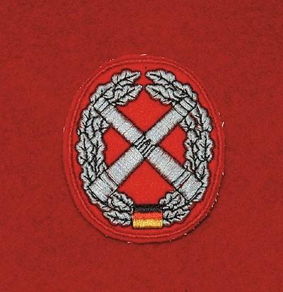 Barett Abzeichen Artillerie Textil