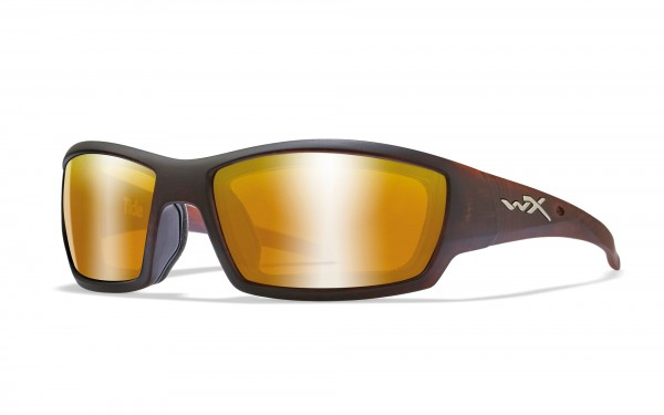 Wiley X Tide Sonnenbrille Polarized Amber Gold Mirror