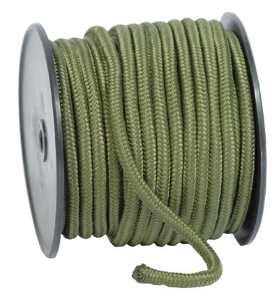 Commando Seil 9 mm Oliv - 30 Meter Rolle