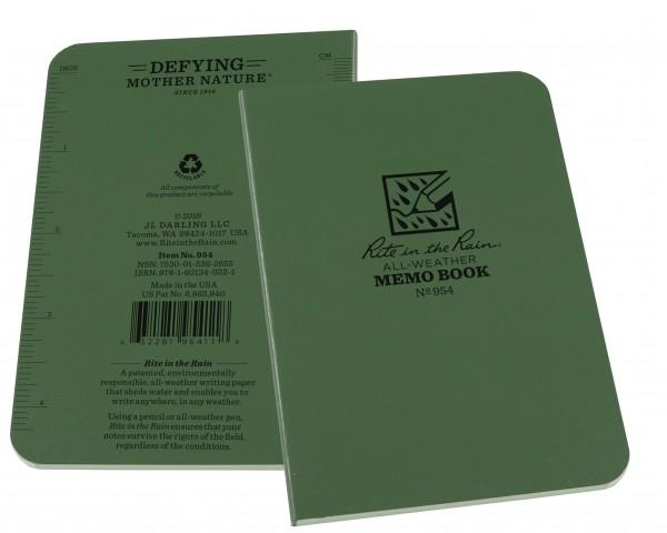 """Rite in the Rain Tactical Memo Book 2 7/8"""" x 5"""""""