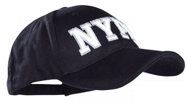 Baseball Cap Schwarz 3-D NYPD