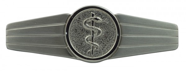BW Tätigkeits-Abz.Sani-Personal Silber