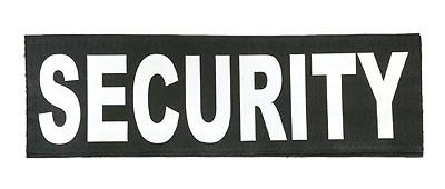 Reflektierender Schriftzug Groß /Klett Security