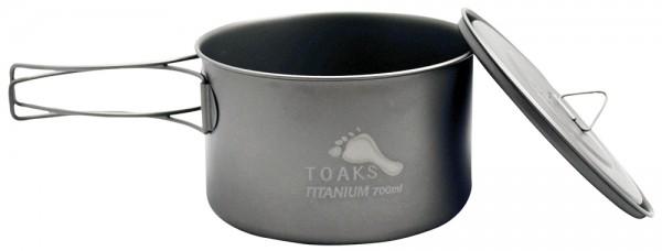 Toaks Titanium Pot 700 ml mit Deckel