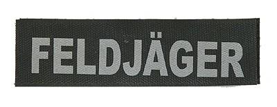 Reflektierender Schriftzug Klein Feldjäger