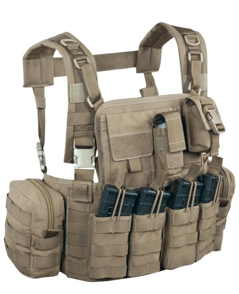 Warrior Elite Ops Chest Rig Elite 4 Coyote M4
