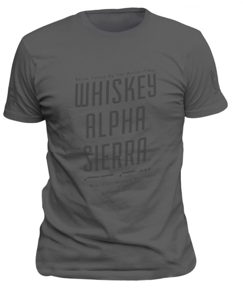 Whiskey Alpha Sierra T-Shirt