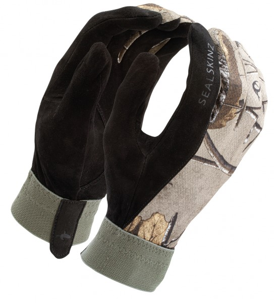 SealSkinz Solo Camo Shooting Glove Realtree