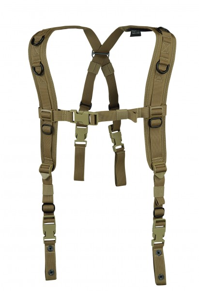 Warrior Low Profile Harness Coyote