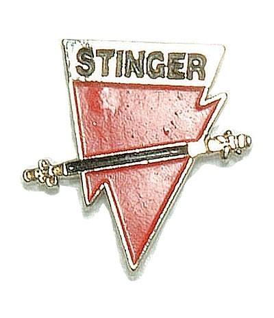 BW Mützenanstecker Metall Stinger