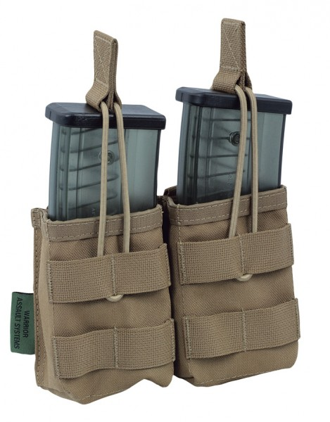 Warrior Double Open Mag Pouch G36 Coyote