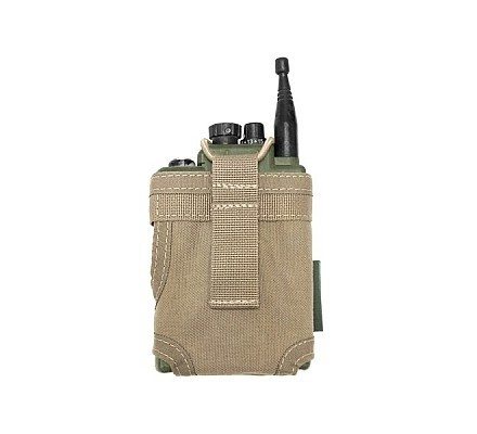 Warrior Personal Role Radio Pouch Coyote
