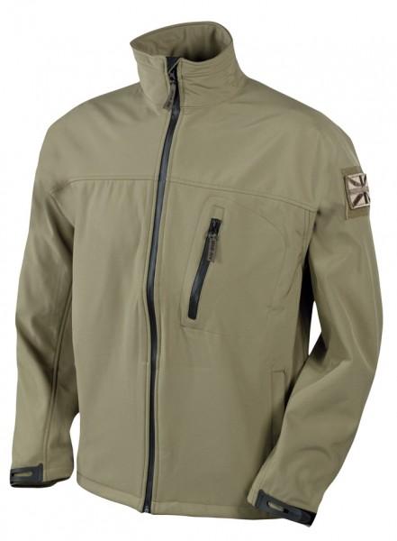Web-tex Tactical Softshell Jacket Sand