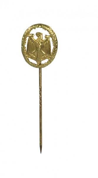 BW Leistungsabzeichen Gold Mini an Nadel