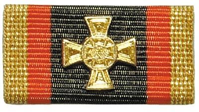 Bandschnalle BW Ehrenkreuz Gold