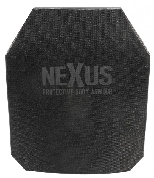 NEXUS Ballistik Level III+ Stand Alone Double Curve Front Plate