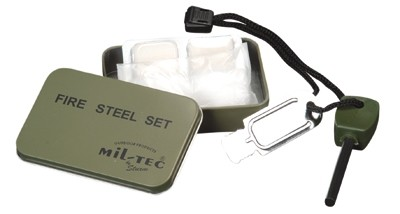 Mil-Tec Zündstein Fire Steel Set
