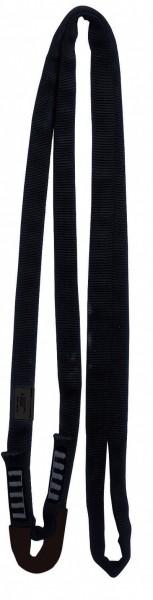 Black Line Rundschlinge mit Auge 120 cm