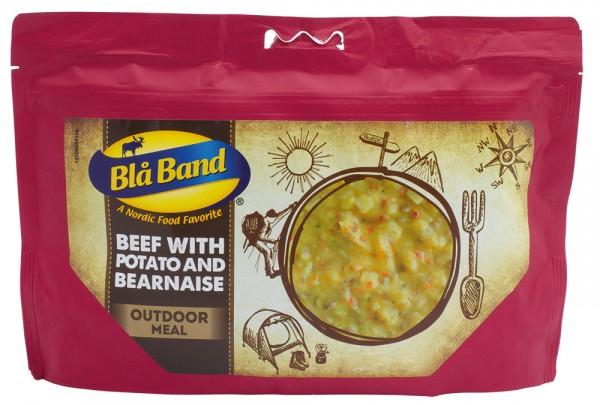 Blå Band Outdoor Meal - Rindfleisch mit Kartoffeln und Béarnaise