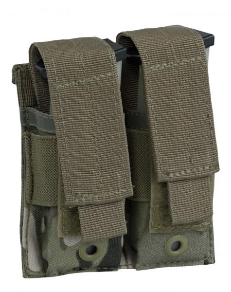 Doppel Magazintasche Pistole Multitarn
