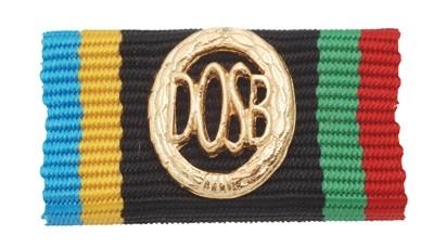 Bandschnalle DOSB-Sportabzeichen Gold