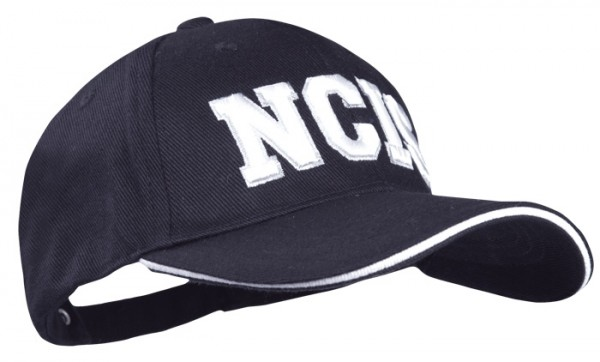 Baseball Cap Schwarz 3-D NCIS