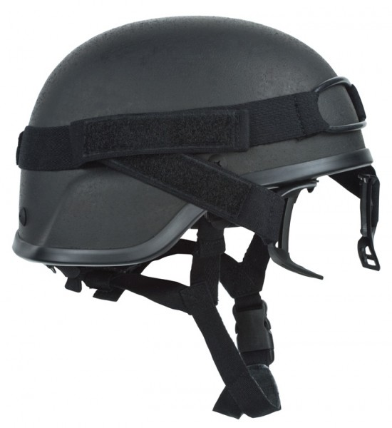 Revision DL PDQ Helmband Schwarz
